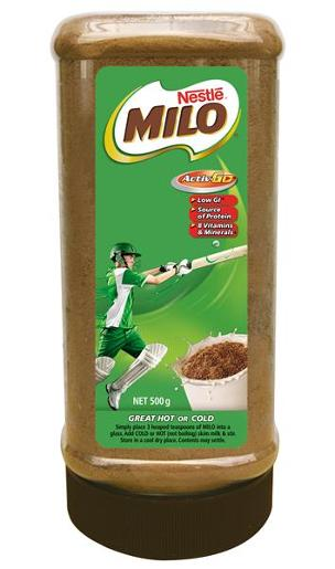 MILO PLASTIC OFFICE JAR 500GM