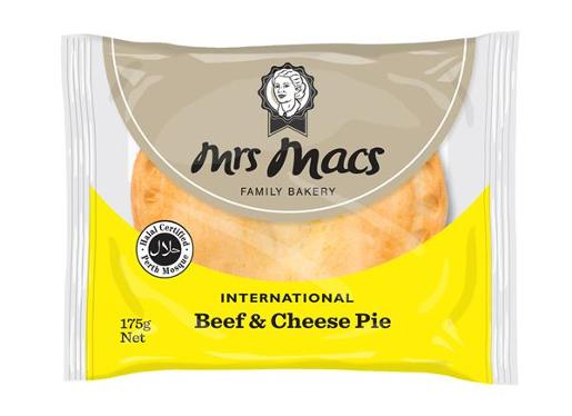 HALAL BEEF AND CHEESE PIE 175GM