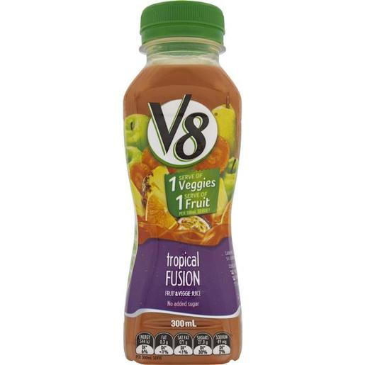 JUICE FRUIT AND VEGETABLE TROPICAL 300ML