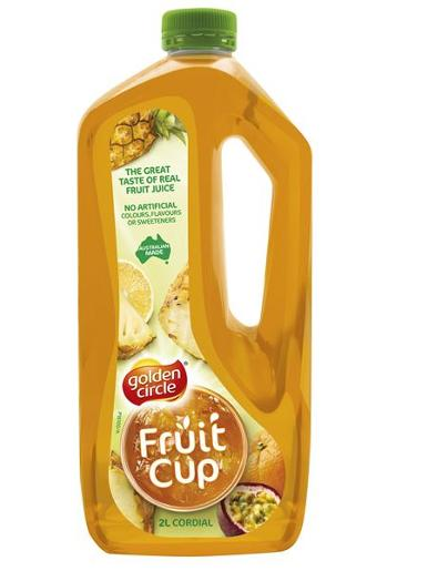 FRUIT CUP CRUSH CORDIAL 2L