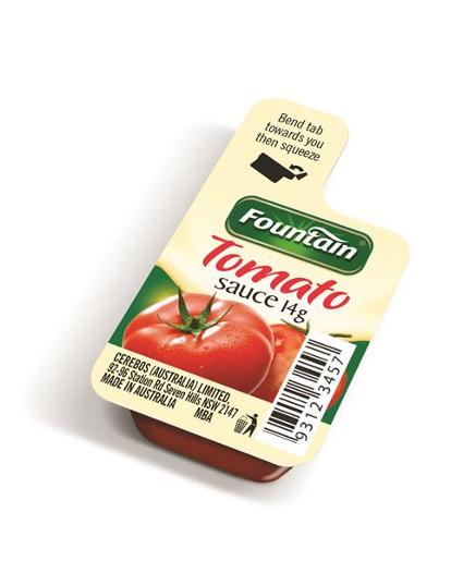 SAUCE SQUEEZE TOMATO PORTIONS 14GM