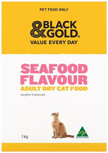 DRY CAT FOOD SEAFOOD PLATTER 1KG