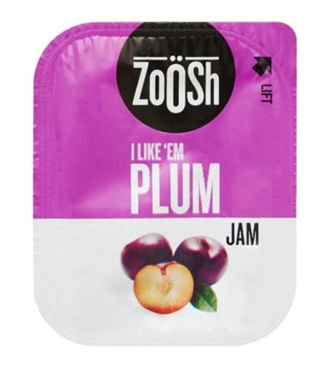 PLUM JAM PORTIONS 13.6GM