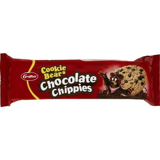 BISCUITS COOKIE BEAR CHOCOLATE CHIPPIES 200GM