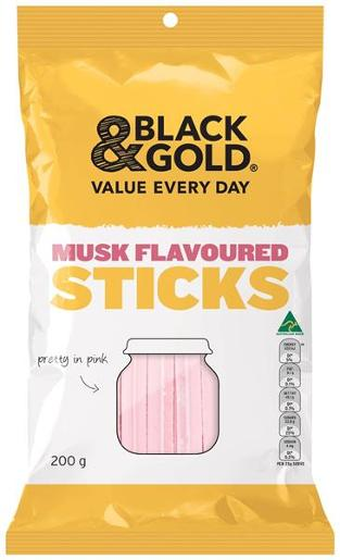 MUSK FLAVOURED STICKS 200GM