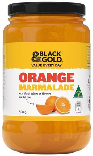 MARMALADE ORANGE 500GM