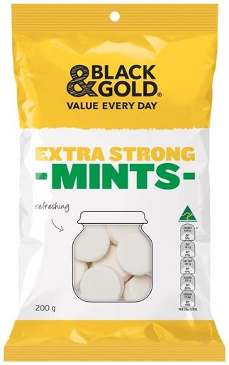 MINTS EXTRA STRONG 200GM