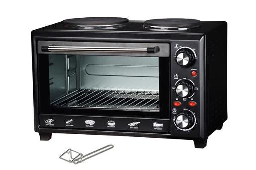 OVEN WITH HOT PLATES 28L
