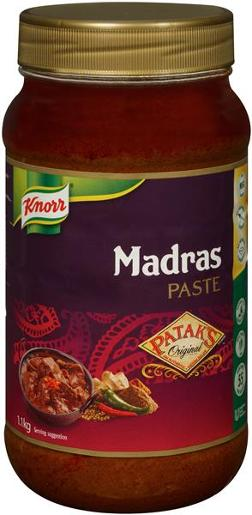 PATAKS PASTE MADRAS CURRY 1.1KG