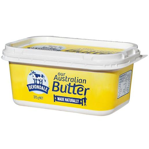 BUTTER REGULAR TUB 375GM