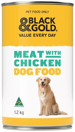 WET DOG FOOD MEAT WITH CHICKEN 1.2KG