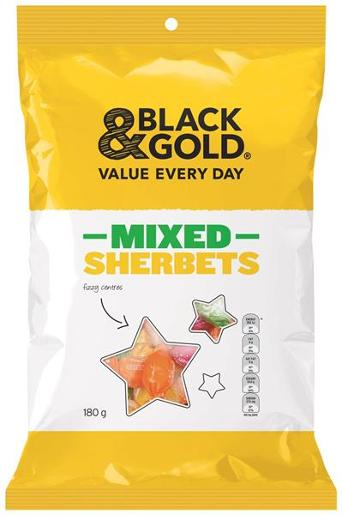 MIXED SHERBETS 180GM