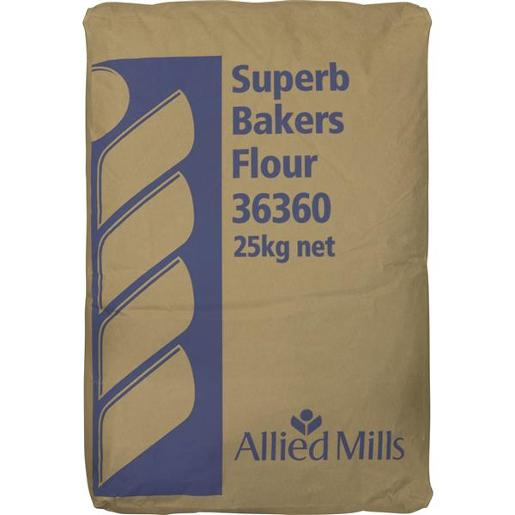 SUPERB BAKERS FLOUR 25KG