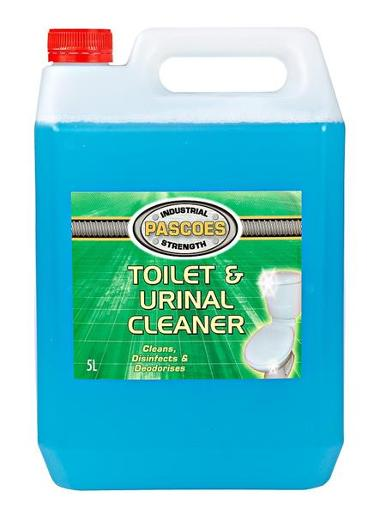 TOILET AND URINAL CLEANER 5L
