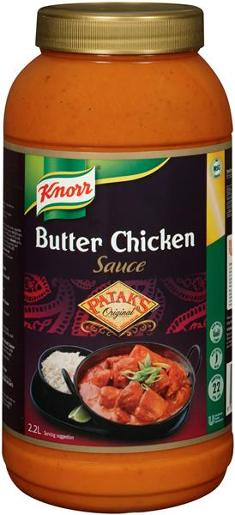 PATAKS BUTTER CHICKEN SAUCE 2.2L