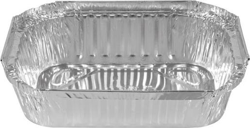 SMALL RECTANGLE FOIL CONTAINER 100S