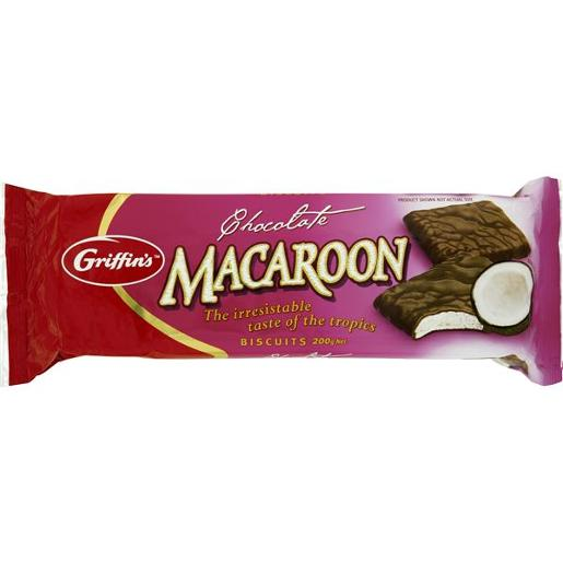 BISCUITS MACAROON CHOCOLATE 200GM