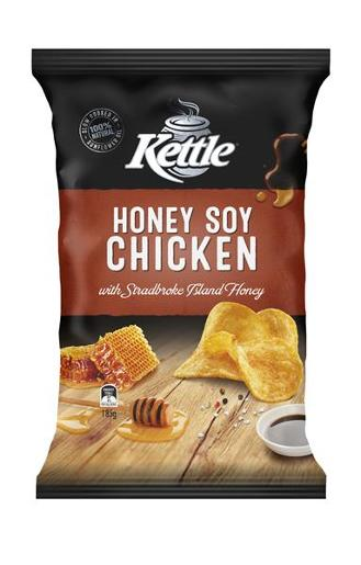 HONEY SOY CHICKEN POTATO CHIPS 185GM