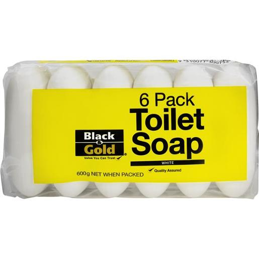 TOILET SOAP 6 PACK 100GM
