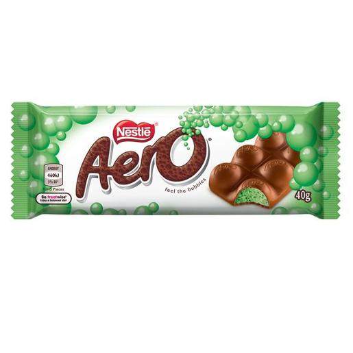 AERO PEPPERMINT BAR 40GM