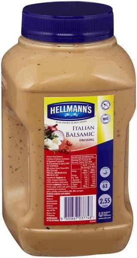 BALSAMIC DRESSING 2.55L
