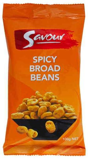 SPICY BROAD BEANS 100GM
