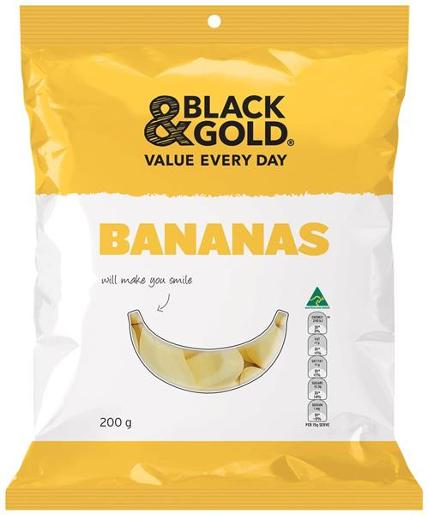 BANANAS 200GM