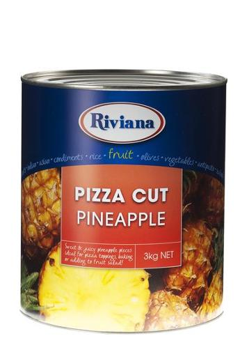 PIZZA CUT PINEAPPLE 3KG