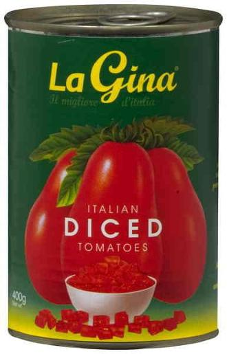 DICED TOMATOES 400GM