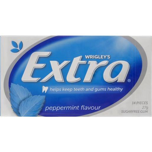 EXTRA PEPPERMINT ENVELOPE PACK SINGLE 27GM