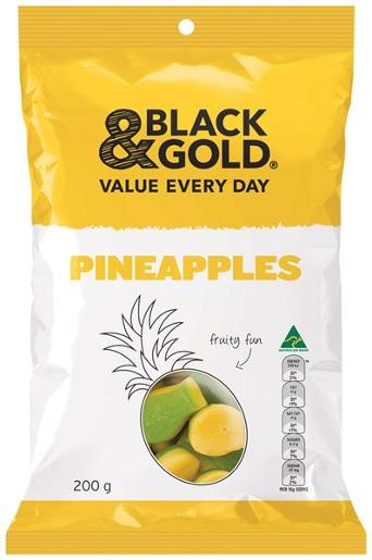 PINEAPPLES 200GM