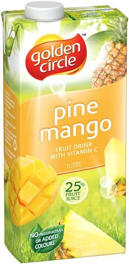 PINEAPPLE MANGO JUICE 1L