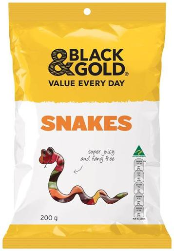SNAKES 200GM