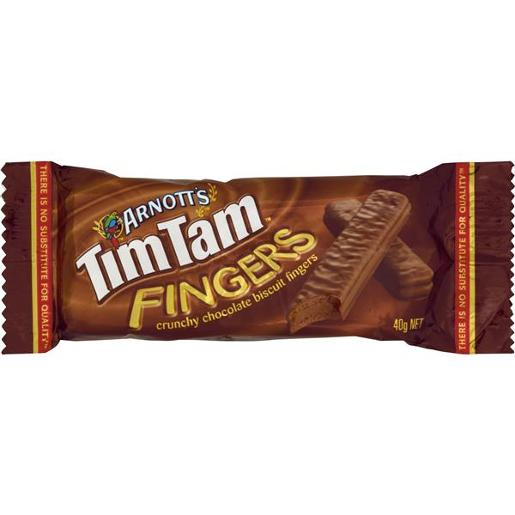 BISCUITS CHOCOLATE TIM TAM FINGERS 40GM