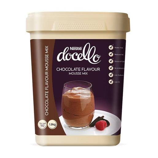 DOCELLO CHOCOLATE MOUSSE 1.9KG