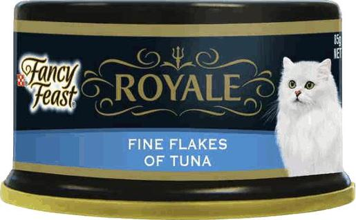 FANCY FEAST ROYALE TUNA FLAKES 85G