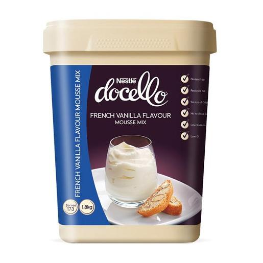 DOCELLO FRENCH VANILLA MOUSSE 1.8KG