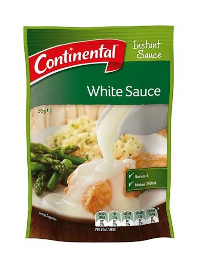 WHITE INSTANT SAUCE 35GM