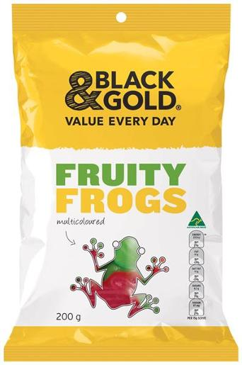 FRUITY FROGS 200GM