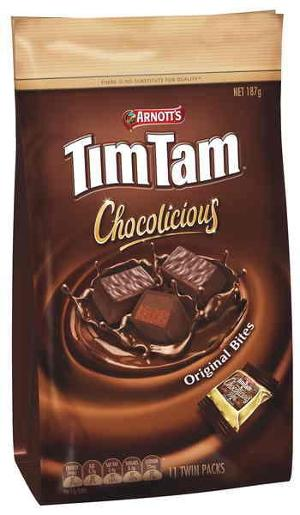 BISCUITS CHOCOLATE TIM TAM CHOCOLICIOUS ORIGINAL 187GM