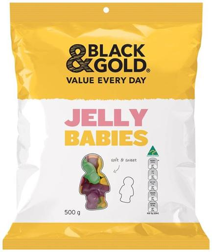 JELLY BABIES 500GM