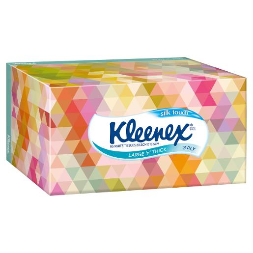 FACIAL TISSUE LARGE 'N THICK 95S