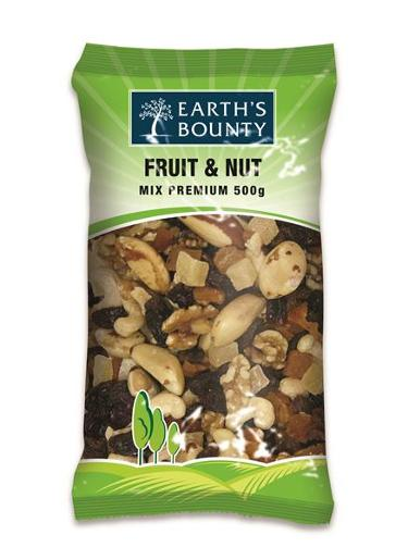 FRUIT & NUT MIX 500GM