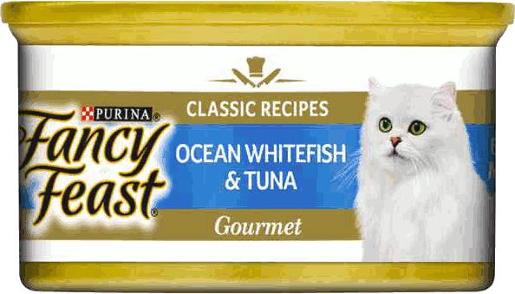 FANCY FEAST CLASSIC OCEAN WHITE FISH AND TUNA 85GM