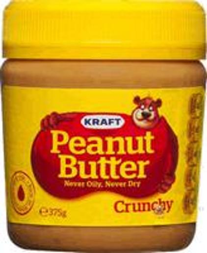 THE GOOD NUT PEANUT BUTTER CRUNCHY 375GM