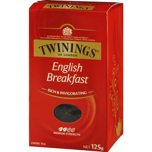 ENGLISH BREAKFAST LOOSE TEA 125G