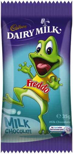 FREDDO FROG GIANT DAIRY MILK CHOCOLATE 35GM
