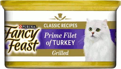 FANCY FEAST GRILLED PRIME FILLET TURKEY 85G