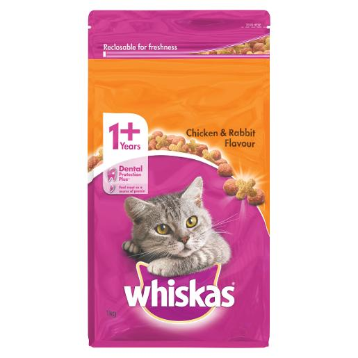 1+ YEARS CHICKEN AND RABBIT DRY FOOD 1KG