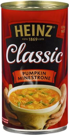 SOUP CLASSIC PUMPKIN MINESTRONE 535GM
